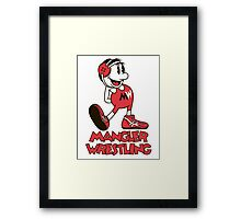 Mangler Willie Framed Print