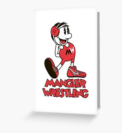 Mangler Willie Greeting Card