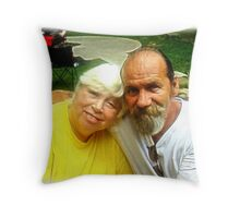 A Day of Reflection for my loving sister Throw Pillow