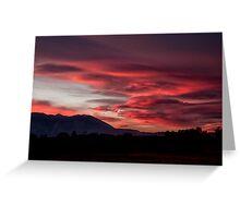 Lenticular Sunset Greeting Card