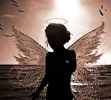 ANGEL OF GRACE Photographic Print