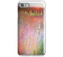 Sunset at stone-circle iPhone Case/Skin
