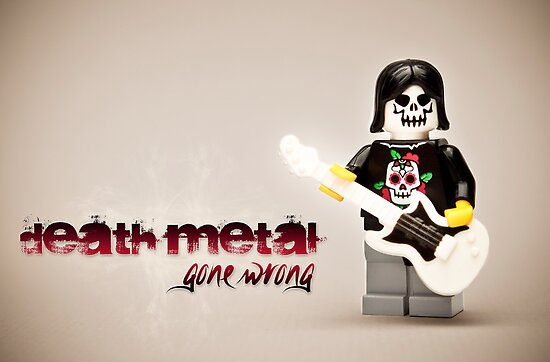 Death Metal Die-Hard by iElkie