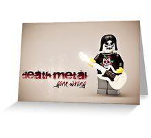 Death Metal Die-Hard Greeting Card