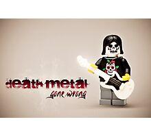 Death Metal Die-Hard Photographic Print