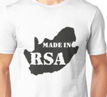 BORN IN THE RSA Unisex T-Shirt
