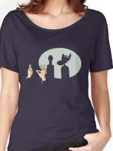Mystery Silhouette Theater 3000 Women's Relaxed Fit T-Shirt