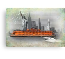 new york icons Canvas Print