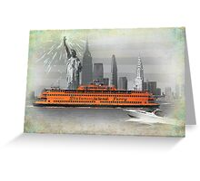new york icons Greeting Card