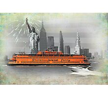 new york icons Photographic Print
