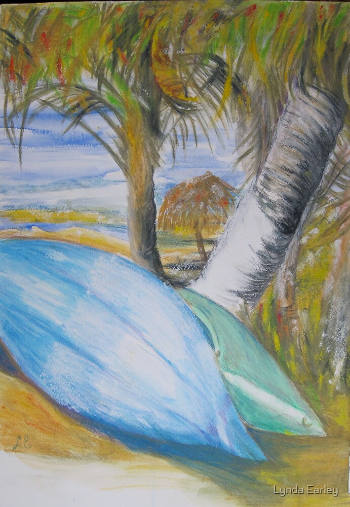 Kayaks, Paraiso Miramar by Lynda Earley