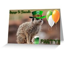 PARTY!!! Greeting Card