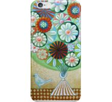 Green Flowers iPhone Case/Skin