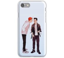 can i get a kiss? iPhone Case/Skin