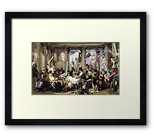 Romans of the Force Framed Print