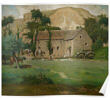The Farm House, c.1867-69 Poster
