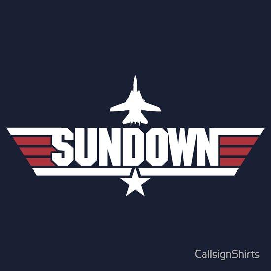 Sundown top gun