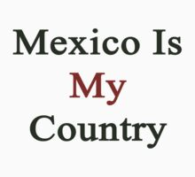 Mexico Is My Country by supernova23