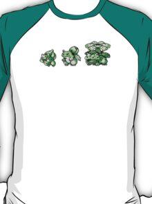 Bulbasaur evolution  T-Shirt