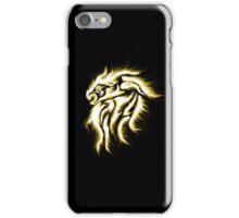 Flaming Lion Tattoo Art iPhone iPod Case iPhone Case/Skin