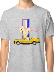 Mustang Fluttershy Classic T-Shirt