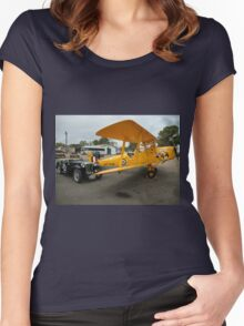 MG & Tiger Moth,Cunderdin Airshow,Australia 2005 Women's Fitted Scoop T-Shirt