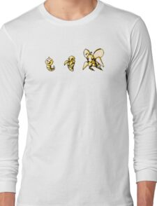 Weedle evolution  Long Sleeve T-Shirt