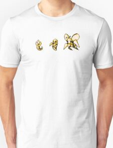 Weedle evolution  T-Shirt