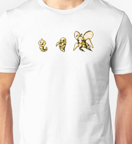 Weedle evolution  Unisex T-Shirt