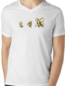 Weedle evolution  Mens V-Neck T-Shirt