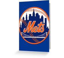 Mets Greeting Card