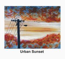 Urban Sunset One Piece - Long Sleeve