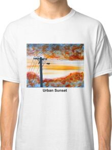 Urban Sunset Classic T-Shirt