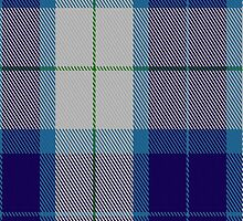 00655 Wallace Blue Dress Dance Tartan Fabric Print Iphone Case by Detnecs2013