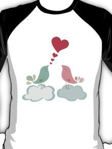 Love bird couple  T-Shirt