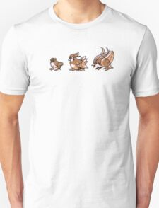 Pidgey evolution  T-Shirt