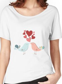 Bird lovers Women's Relaxed Fit T-Shirt