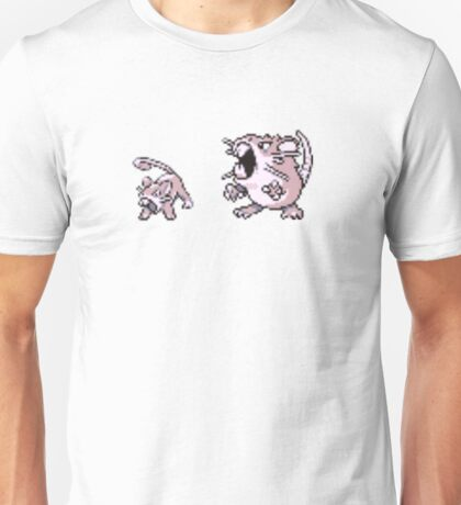 Rattata evolution  Unisex T-Shirt