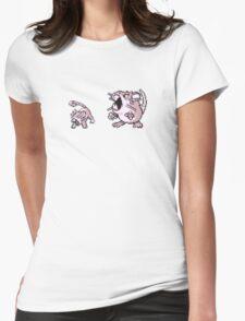 Rattata evolution  Womens Fitted T-Shirt