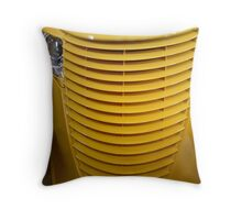 Yellow Grill Throw Pillow