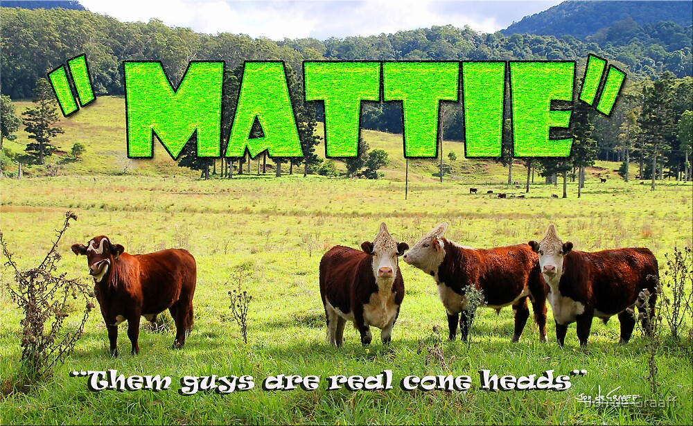 Mattie by Jon de Graaff