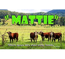 Mattie Photographic Print