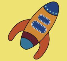 Space Rocket Kids Tee