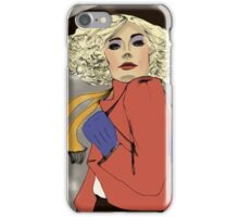Woman of the 80s iPhone Case/Skin