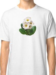 Small White Primroses Classic T-Shirt