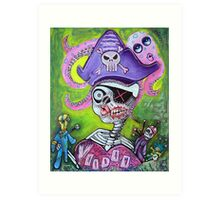 Pirate Voodoo Art Print