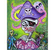 Pirate Voodoo Photographic Print