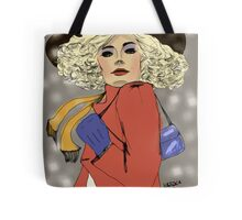 Woman of the 80s Tote Bag
