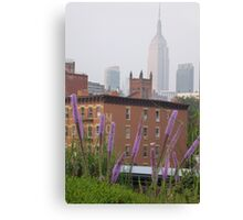 Sights from High Line Canvas Print