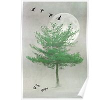 A TREE IN THE MOONLIGHT Poster